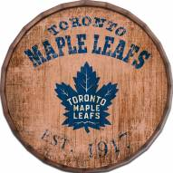 "Toronto Maple Leafs Established Date 24"" Barrel Top"