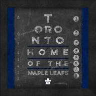 Toronto Maple Leafs Eye Chart