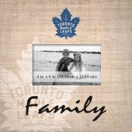 Toronto Maple Leafs Family Picture Frame