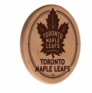 Toronto Maple Leafs Laser Engraved Wood Sign