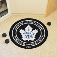 Toronto Maple Leafs Hockey Puck Mat