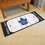 Toronto Maple Leafs Hockey Rink Runner Mat