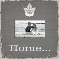 Toronto Maple Leafs Home Picture Frame