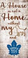 Toronto Maple Leafs House is Not a Home Sign