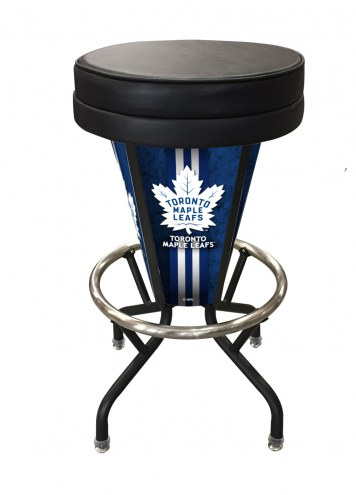 Toronto Maple Leafs Indoor Lighted Bar Stool