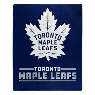 Toronto Maple Leafs Interference Raschel Blanket