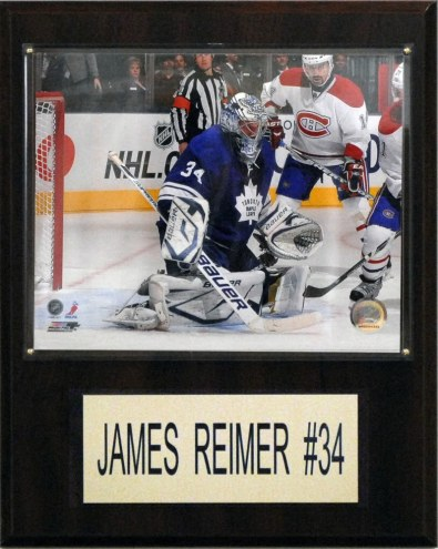 "Toronto Maple Leafs James Reimer 12"" x 15"" Player Plaque"