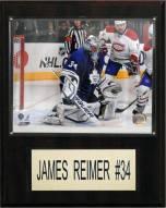"Toronto Maple Leafs James Reimer 12"" x 15"" Player Plaque"