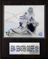"Toronto Maple Leafs Jean-Sebastien Gigure 12"" x 15"" Player Plaque"