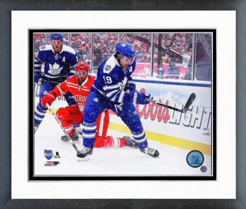 Toronto Maple Leafs Joffrey Lupul Winter Classic Framed Photo