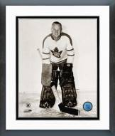 Toronto Maple Leafs Johnny Bower Posed Framed Photo