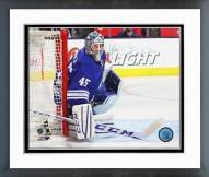 Toronto Maple Leafs Jonathan Bernier Action Framed Photo