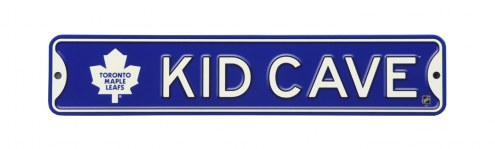 Toronto Maple Leafs Kid Cave Street Sign