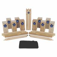 Toronto Maple Leafs Kubb Viking Chess