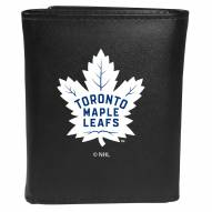 Toronto Maple Leafs Large Logo Leather Tri-fold Wallet
