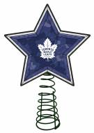 Toronto Maple Leafs Light Up Art Glass Mosaic Tree Topper