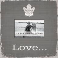 Toronto Maple Leafs Love Picture Frame