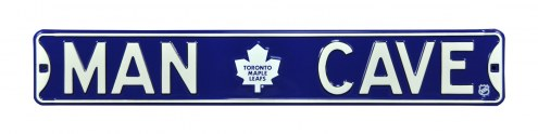 Toronto Maple Leafs Man Cave Street Sign