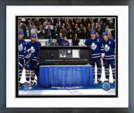 Toronto Maple Leafs Mats Sundin 500th Goal Ceremony Framed Photo