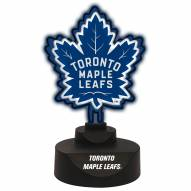 Toronto Maple Leafs Team Logo Neon Light
