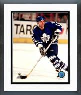Toronto Maple Leafs Mike Gartner Action Framed Photo