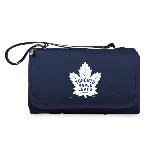 Toronto Maple Leafs Navy Blanket Tote
