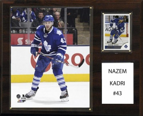 "Toronto Maple Leafs Nazem Kadri 12"" x 15"" Player Plaque"