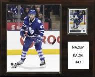 """Toronto Maple Leafs Nazem Kadri 12"""" x 15"""" Player Plaque"""