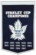 Toronto Maple Leafs NHL Dynasty Banner