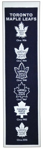 Toronto Maple Leafs NHL Heritage Banner