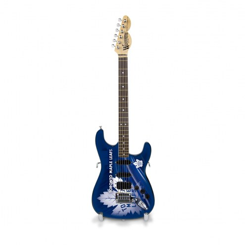 Toronto Maple Leafs NHL Mini Collectible Guitar