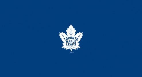 Toronto Maple Leafs NHL Team Logo Billiard Cloth