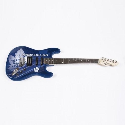 Toronto Maple Leafs Woodrow Northender Electric Guitar