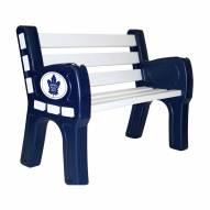 Toronto Maple Leafs Park Bench