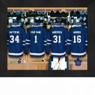 Toronto Maple Leafs Personalized 11 x 14 Framed Photograph