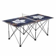 Toronto Maple Leafs Pop Up 6' Ping Pong Table