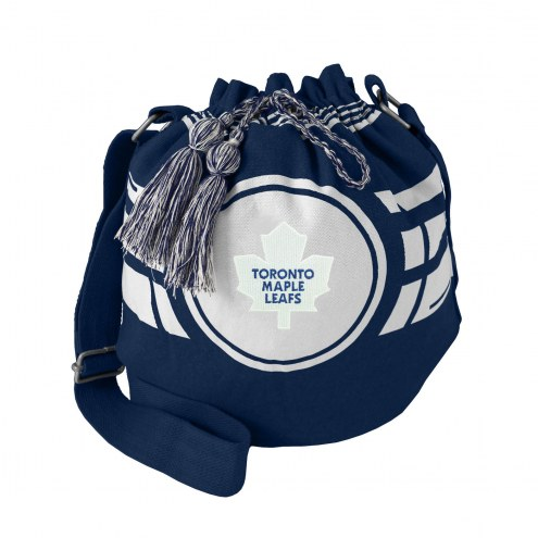 Toronto Maple Leafs Ripple Drawstring Bucket Bag