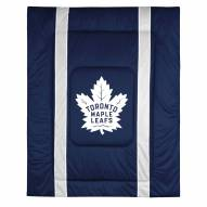 Toronto Maple Leafs Sidelines Bed Comforter