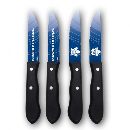 Toronto Maple Leafs Steak Knives
