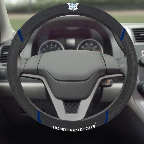 Toronto Maple Leafs Steering Wheel Cover