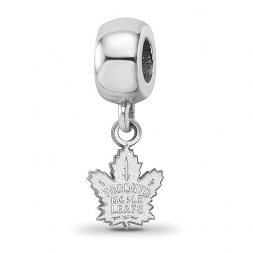 Toronto Maple Leafs Sterling Silver Extra Small Bead Charm