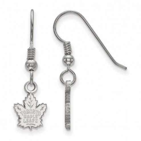 Toronto Maple Leafs Sterling Silver Extra Small Dangle Earrings