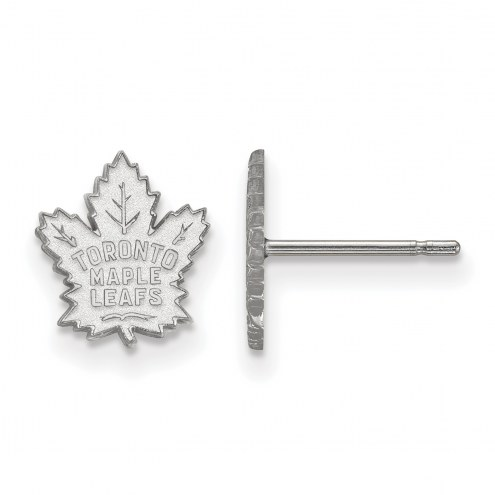 Toronto Maple Leafs Sterling Silver Extra Small Post Earrings