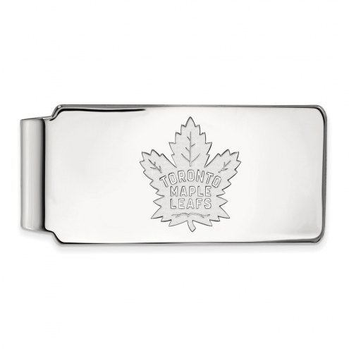 Toronto Maple Leafs Sterling Silver Money Clip