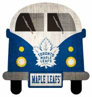 Toronto Maple Leafs Team Bus Sign