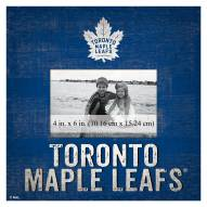 """Toronto Maple Leafs Team Name 10"""" x 10"""" Picture Frame"""