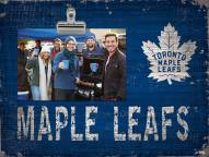Toronto Maple Leafs Team Name Clip Frame