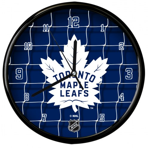 Toronto Maple Leafs Team Net Clock