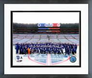 Toronto Maple Leafs Team Photo NHL Winter Classic Framed Photo