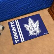 Toronto Maple Leafs Uniform Inspired Starter Rug